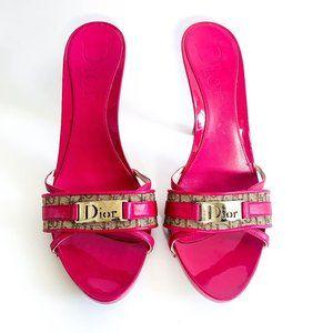 DJ Khaled - Christian Dior Monogram Canvas Sandals